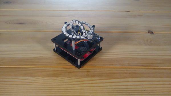 3D Compass oblique view