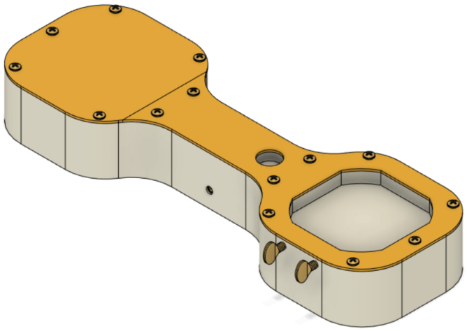 3D render of a product in CAD