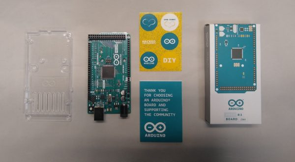 Arduino Mega with documents