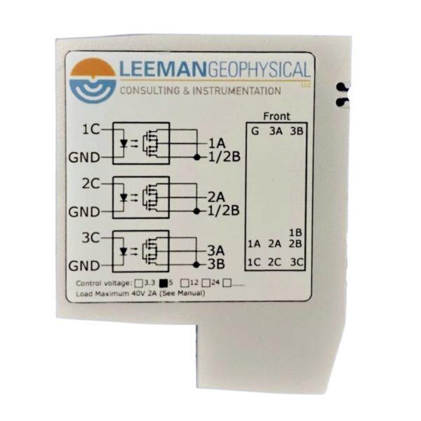 DIN load Switch Side
