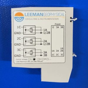 Din Load Switch profile view