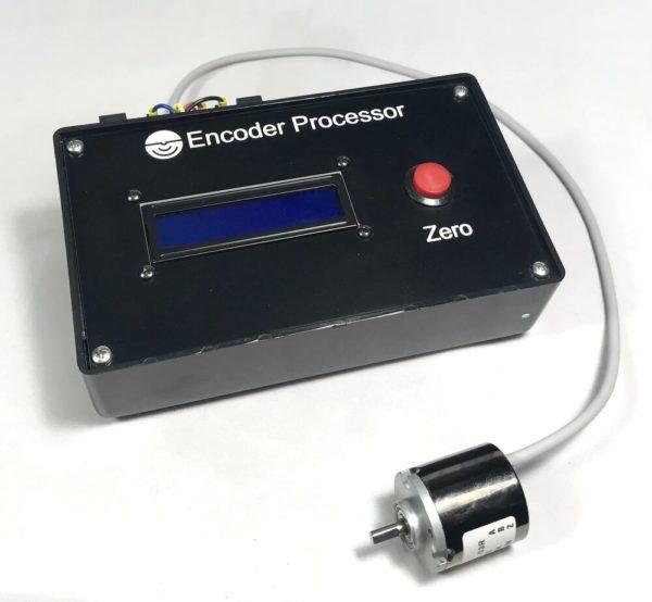 Encoder processor with servo