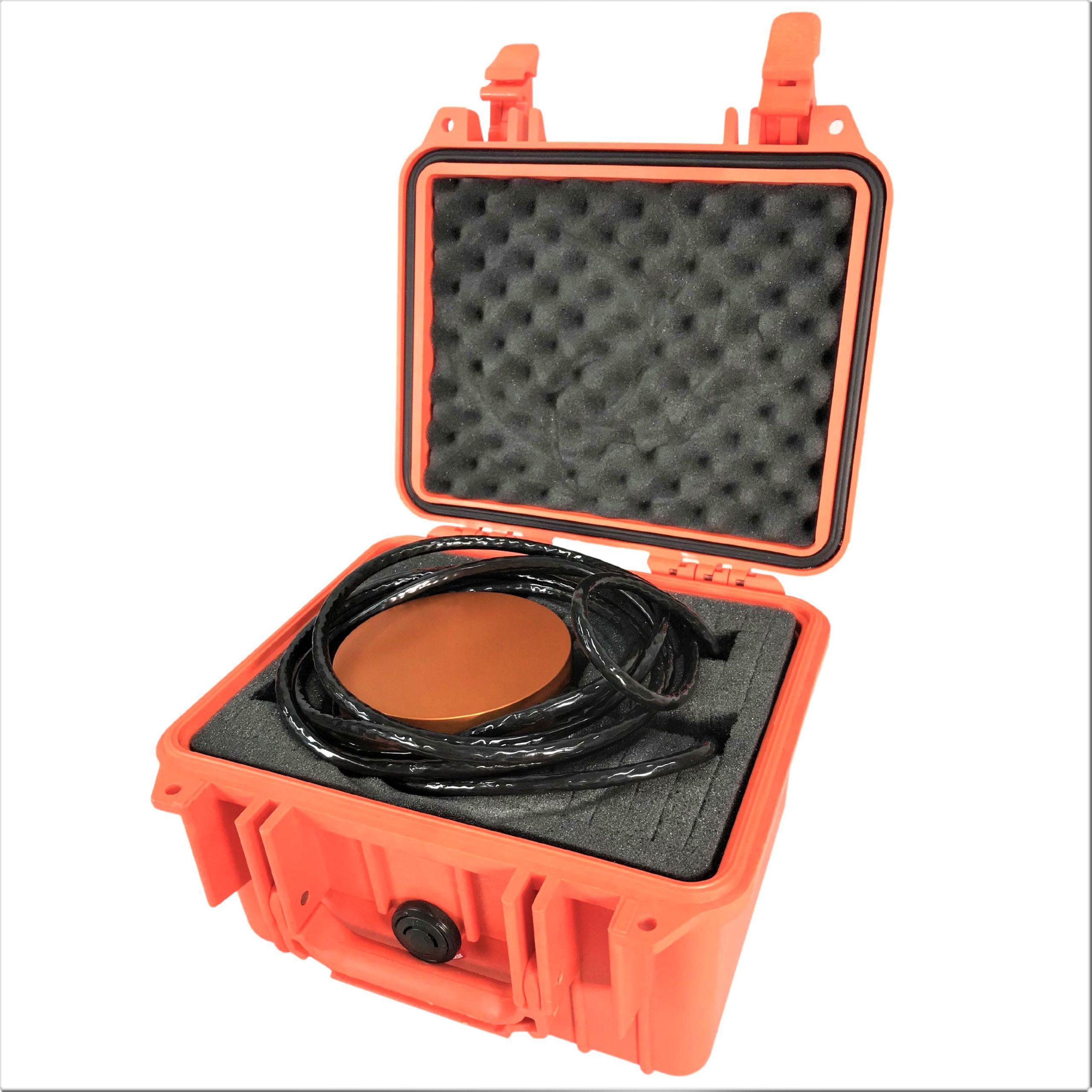 PTM instrument in case
